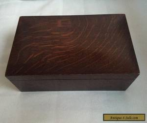 Beautiful Old Wooden Box for Sale