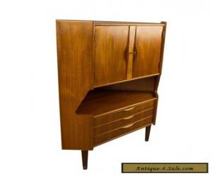 Item Omann Jun Teak Corner Cab Mid Century Danish Modern for Sale
