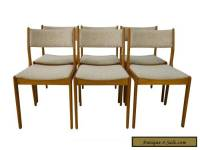 Findahl Teak Dining Chairs Danish Mid Century Modern