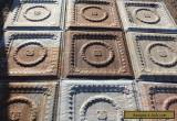 Antique Pressed Tin Ceiling (10 pieces) ***Free Shipping*** for Sale