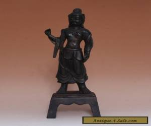 NICE CHINESE BRASS STATUE STANDING BUDDHA 29CM (L708) for Sale