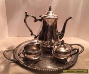Wm. Roger Bros Silver plate Coffee Tea serving set - 4 Pieces  for Sale