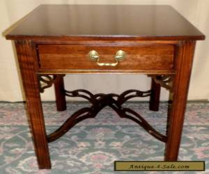 ETHAN ALLEN CHERRY TABLE End, Side With Single Drawer VINTAGE for Sale