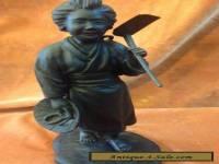 Japanese Bronze figure Meiji Era singed