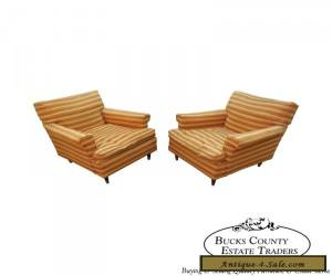 Vintage Mid Century Modern Pair of Lounge Chairs for Sale