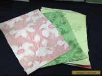 7 Sheets Art Nouveau Wallpaper William Morris (?) Salesman Catalog Samples