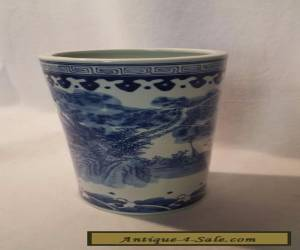 Chinese style Blue and White Vase for Sale