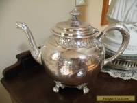 Late Victorian, Toronto Silverplate Co. Quadrouple plate,  Teapot
