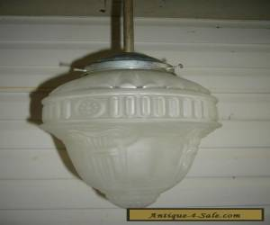 ANTIQUE / ART DECO SHADE LIGHT FITTING for Sale