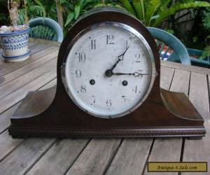 Antique/Vintage Cute Napoleon Clock Running Striking VERY well  for Sale