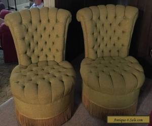 Set of 2 Vintage Chairs for Sale