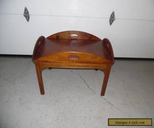 Vintage Solid Mahogany Butler's Table for Sale