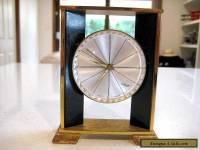 """Vintage 'IMHOP""""  Swiss Made  Modernist Design 8 Day Alarm Clock"""