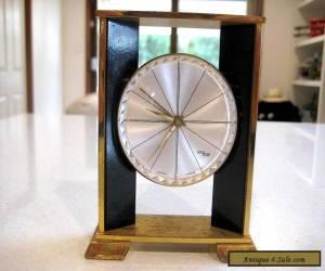 """Vintage 'IMHOP""""  Swiss Made  Modernist Design 8 Day Alarm Clock for Sale"""
