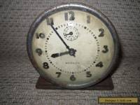 ANTIQUE WESTCLOX ALARM CLOCK MADE IN U.S.A. AND U.K. COLLECTORS   **************