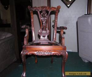 Vintage Child's Chippendale Style Arm Chair  Claw And Ball Foot for Sale