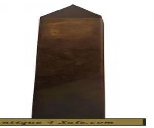 VINTAGE SARREID OBELISK PYRAMID BRASS SCULPTURE MID CENTURY MCM  for Sale