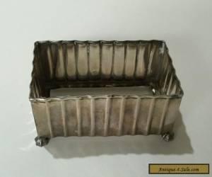 1896 - 1930 Brimingham Antique Vintage Sterling Silver Frame - Free Postage for Sale