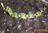 Greenstone Vintage 1960s Modernist Bracelet Art Deco-NZ Deceased Estate for Sale
