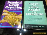 Clock Repair Books by Gazeley & de Carle