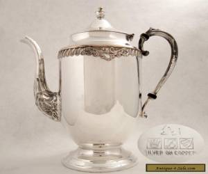 VINTAGE IMMACULATE SILVERPLATED SHERIDAN COFFEE POT SDN20 193 for Sale
