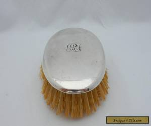 Antique Vintage Sterling Solid Silver .925 Hair Clothes Brush - Great Condition! for Sale