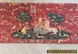 Tapestry (Needlepoint) - La Dame a la Licorne for Sale