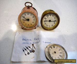 2 OLD CLOCKS AND CLOCK PARTS ......GERMANY....USA....ANSONIA for Sale
