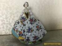 Vintage Capodimonte porcelain figurine
