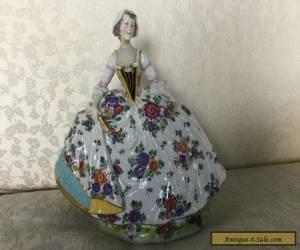 Vintage Capodimonte porcelain figurine for Sale