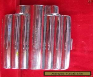 "Vintage Antique Nickel Silver Cigarette Case  ""Admiral"" pat date 1915 for Sale"