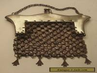 Antique Women's Chatelaine Mesh Coin Purse