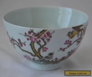 Fine Antique Chinese Famille Rose Porcelain bowl for Sale