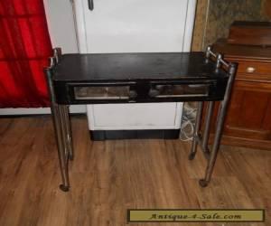 Vintage Art Deco Barbershop Manicure Table for Sale
