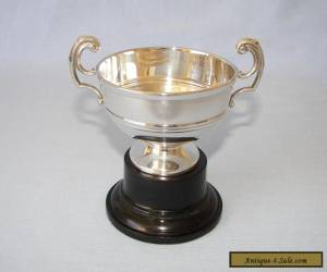 STUNNING VINTAGE STERLING SILVER TROPHY - SHEFFIELD 1957 - EX COND - 70 GRAMS!   for Sale