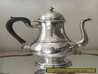 Georgian Style Antique Spaulding Sterling Silver Coffee HOT WATER Pot 609g