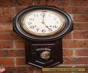 Antique Ansonia/Seikosha Long Drop Octagon Clock Running Striking well for Sale