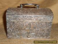 Antique Barbour Silver Co. Box Intricate Design Silverplate
