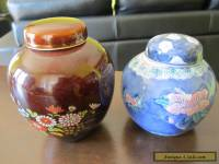 Two Ginger jars Excellent cond.