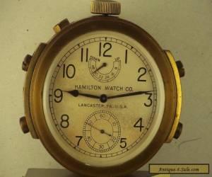 Hamilton Model 22 Deck Watch for Sale