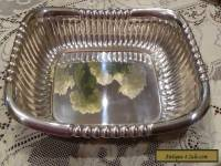 SHEFFILD SILVERPLATE SERVING DISH