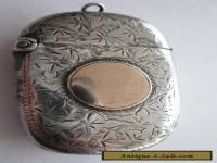 Silver and gold vesta case 1897