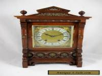 ANTIQUE GERMAN LENZKIRCH MANTLE CLOCK, C1880'S
