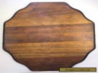 ANTIQUE SALVAGED WOOD TABLE TOP - 24""
