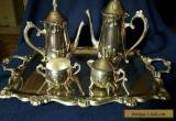 Vintage Silverplated Tea Service by International Silver for Sale