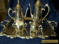 Vintage Silverplated Tea Service by International Silver