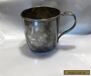 VINTAGE 1847 ROGERS BROS IS SILVERPLATE BABY CUP  for Sale