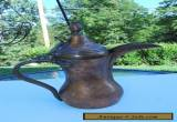 ANTIQUE SAUDI ARABIC ISLAMIC COPPER DALLAH BEDOUIN COFFEE / TEA POT JUG ''Rare'' for Sale
