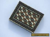 Small Vintage Inlaid Wooden Box