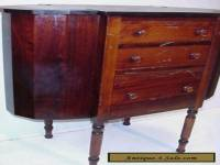ANTIQUE 1920s MARTHA WASHINGTON SOLID MAHOGANY SEWING CABINET
